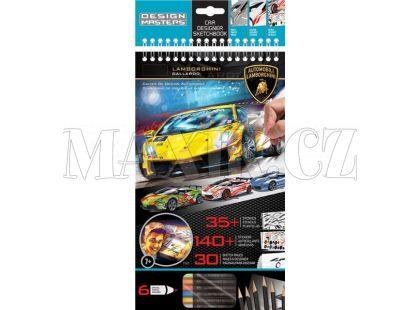 Wooky Lamborghini portfolio + pastelky