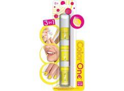 Wooky Style Me Up 3v1 Lak, lesk na rty a křídy na vlasy - Žlutá