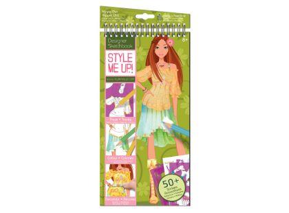 Wooky Style Me Up Návrhářské portfolio - Hippie oblečení