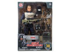 World Peacekeepers S.W.A.T. figurka 30,5cm Policie
