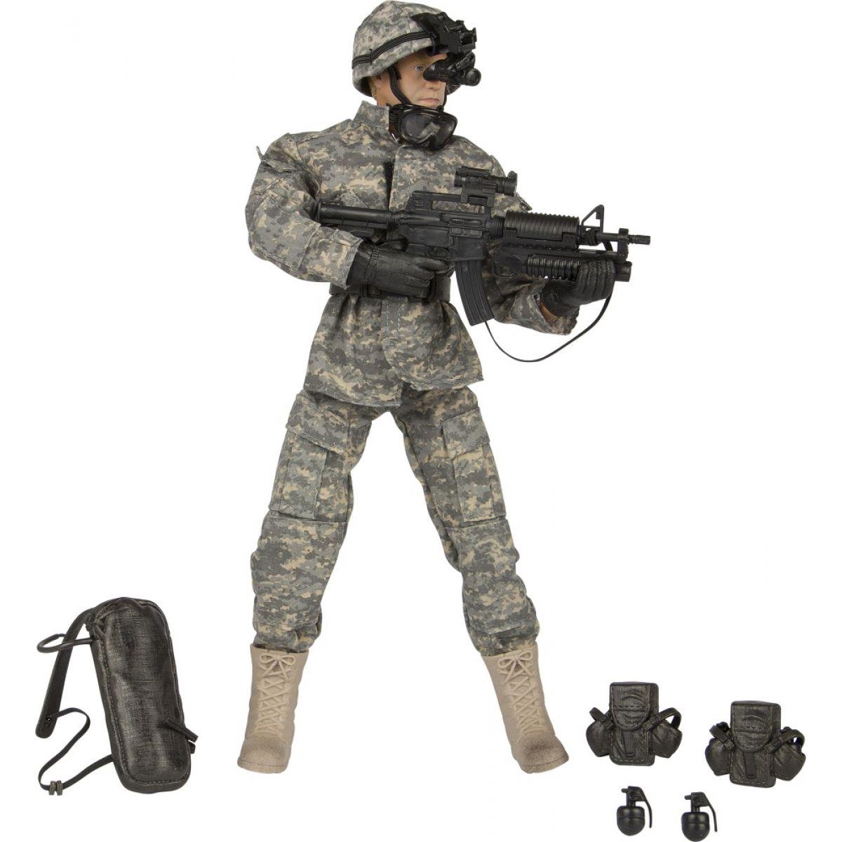 World Peacekeepers Voják figurka 30,5cm - Airborne Infantryman
