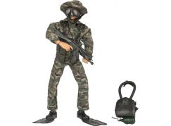 World Peacekeepers Voják figurka 30,5cm - Navy Seal Special Ops