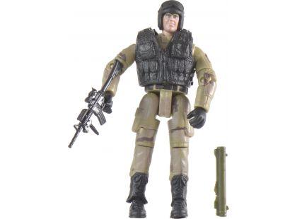 World Peacekeepers Voják figurka 9,5cm - Černá vesta