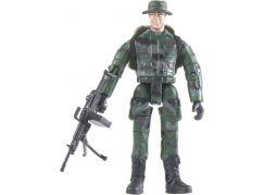 World Peacekeepers Voják figurka 9,5cm - Zelený batoh