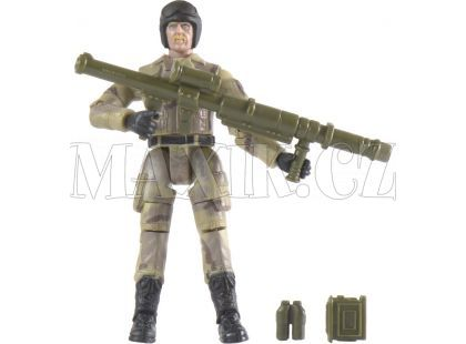 World Peacekeepers Voják figurka 9,5cm - Kulomet