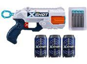 X-Shot Flex 3 plechovnky a 8 nábojů