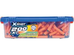 X-Shot sada 200 nábojů v kufříku