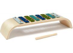 Kids Concept Xylofon dřevěný Blue