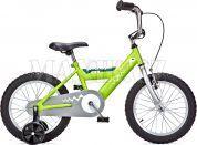 Yedoo Dětské kolo Pidapi 16 steel světle-zelená