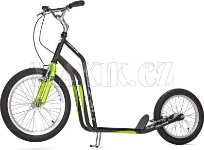 Yedoo Koloběžka Mezeq V-brake 20/16 Black/Green