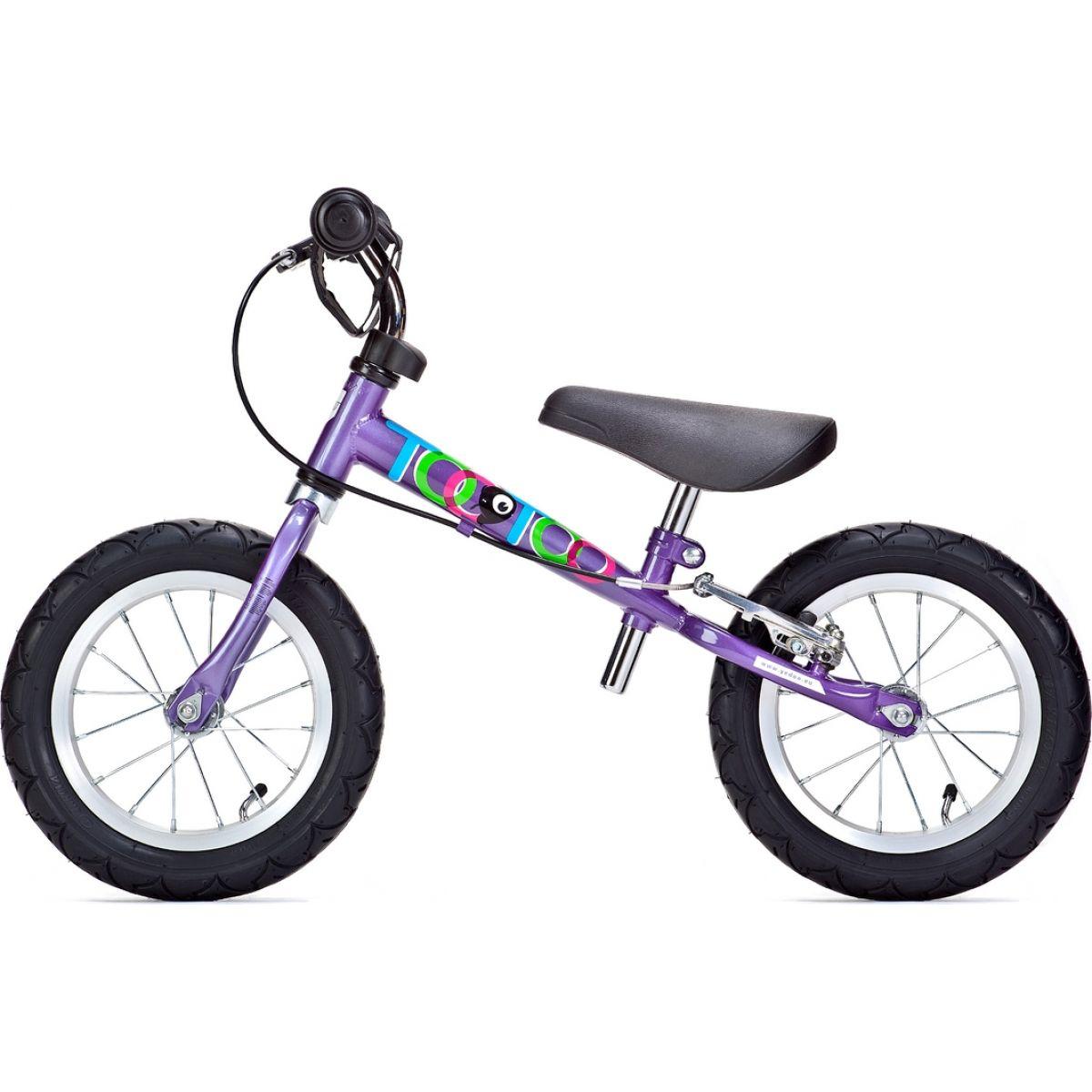 YEDOO Odrážedlo Too Too 12 B s brzdou violet