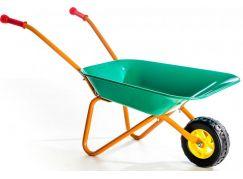 Yupee Dětské kolečko na písek kovové Zelené