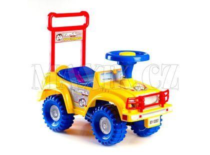 Yupee Odrážedlo Jeep žluté