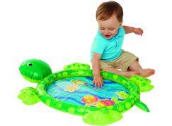 Zábavná vodní podložka želva nafukovací s doplňky