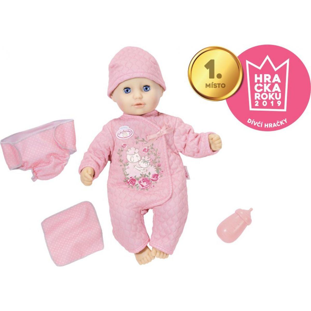 Zapf Creation Baby Annabell Little Baby Fun 36cm Holčička se zavíracíma očima