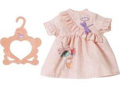 Zapf Creation Baby Annabell šatičky na ven, 43 cm s fialovou vážkou