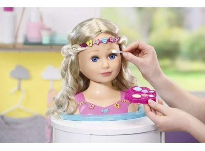 Zapf Creation Baby Born Česaci hlava a Make up Starší sestřička