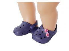 Zapf Creation BABY born Gumové sandálky tmavě modré
