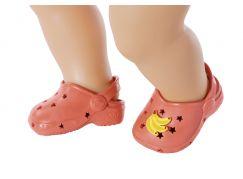Zapf Creation BABY born Gumové sandálky červené