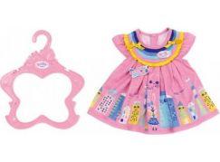 Zapf Creation Baby born Letní šatičky 43 cm růžové