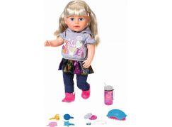 Zapf Creation BABY born Starší sestřička Soft Touch blondýnka, 43 cm