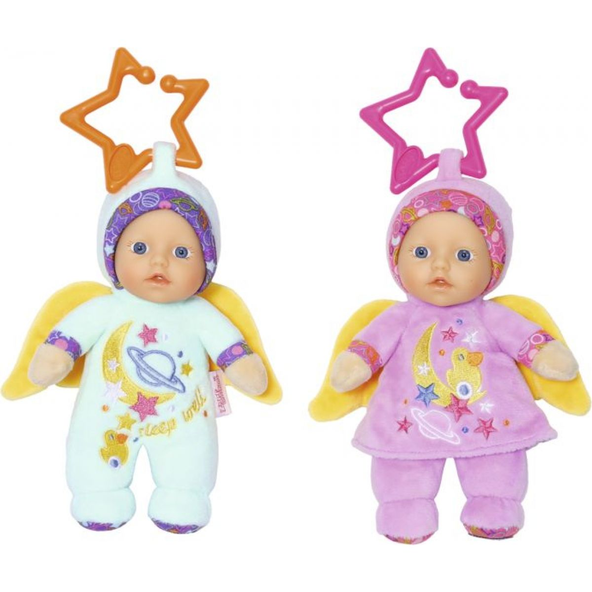 Zapf Creation Baby born® for babies Andílek 18 cm