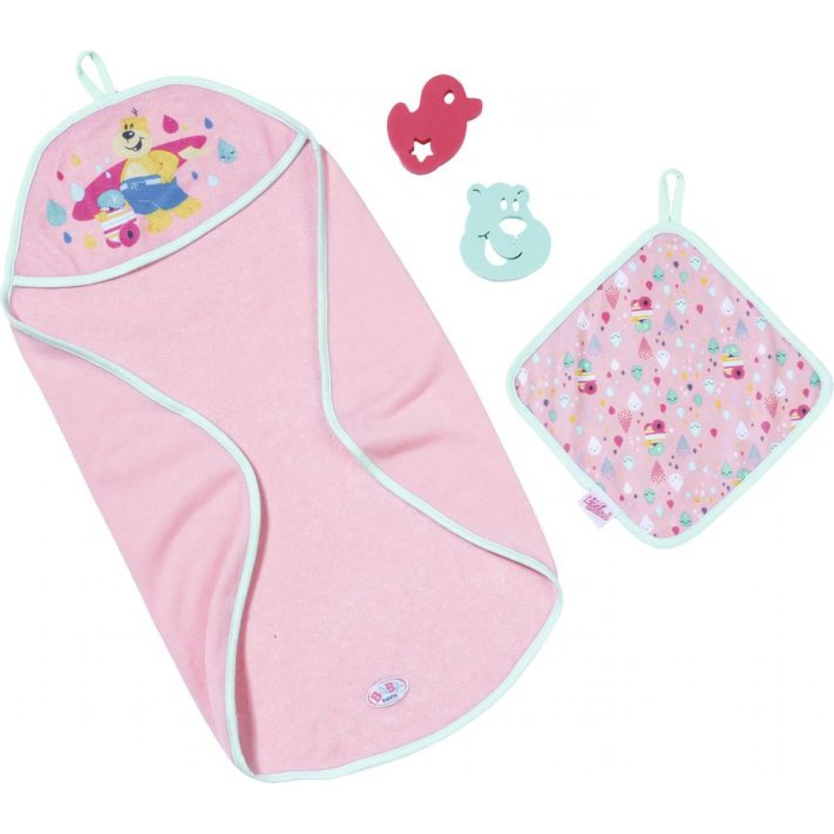Zapf Creation Baby born® Sada s ručníkem