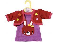 Zapf Dolly Moda Oblečení s pletenou bundičkou 43cm