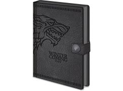 Zápisník A5 premium Hra o Trůny Stark