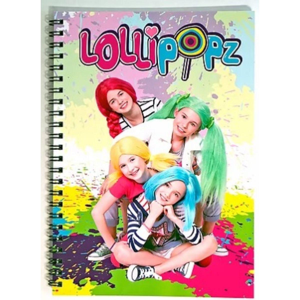 Zápisník Lollipopz A5