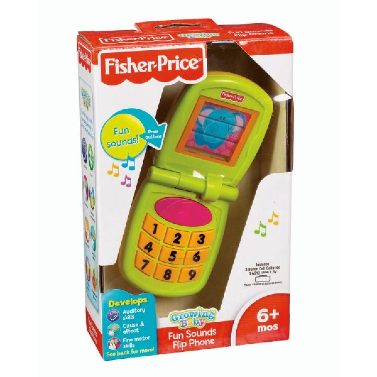 Zábavný hudební telefon Fisher Price W3115