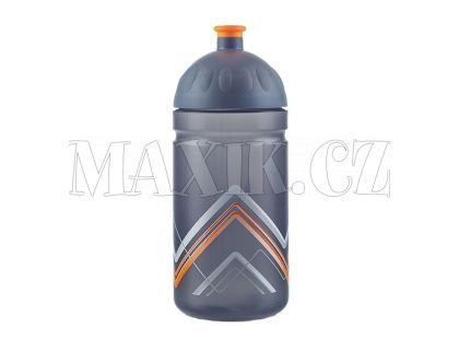 Zdravá lahev Bike Hory oranžová 0,5l