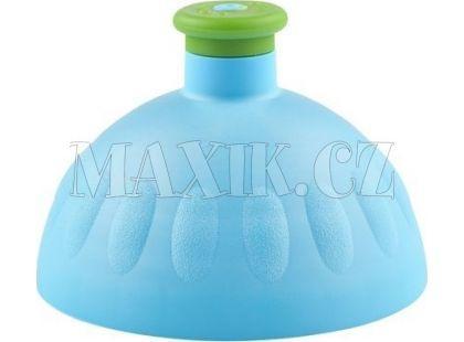 Zdravá lahev Kompletní víčko modré - zátka zelená
