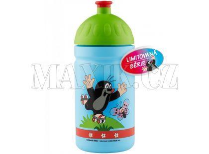 Zdravá lahev Krtek - modrá 0,5l