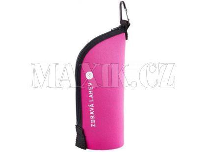 Zdravá lahev Termoobal Cabrio růžový 0,5l
