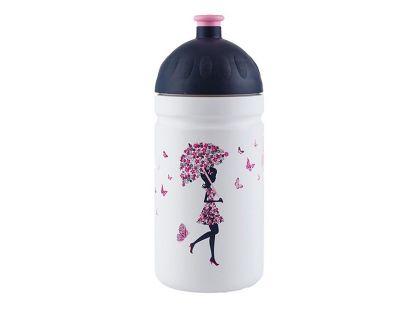 Zdravá lahev Dívka s deštníkem 0,5l