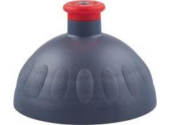 Zdravá lahev Kompletní víčko antracit - zátka červená