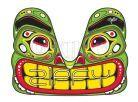 Zipfy Carvingové boby Artist Totem 3