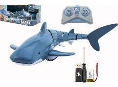 Žralok RC plast 35cm na dálkové ovládání+dobíjecí pack
