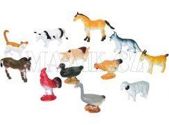 Rappa Zvířata domácí 12ks