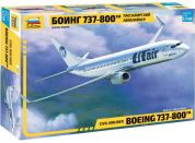 Zvezda Model Kit letadlo 7019 Boeing 737-800 1:144