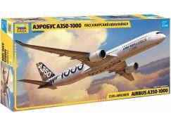 Zvezda Model Kit letadlo 7020 Airbus A-350-1000 1:144