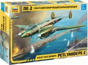 Zvezda Model Kit letadlo 7283 Petlyakov Pe-2 1:72