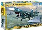 Zvezda Model Kit letadlo 7297 Sukhoi SU-33 Flanker D 1:72