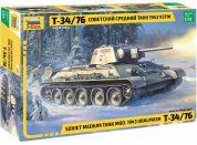 Zvezda Model Kit tank 3689 T-34 76 mod.1943 Uralmash 1:35