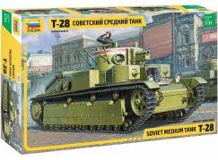 Zvezda Model Kit tank 3694 T-28 Heavy Tank 1:35