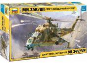 Zvezda Model Kit vrtulník 4823 MIL-Mi 24 V VP 1:48