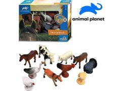 Zvířátka farma 10 ks s mobilní aplikací