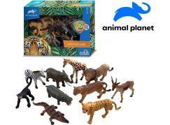 Zvířátka safari 10 ks s mobilní aplikací