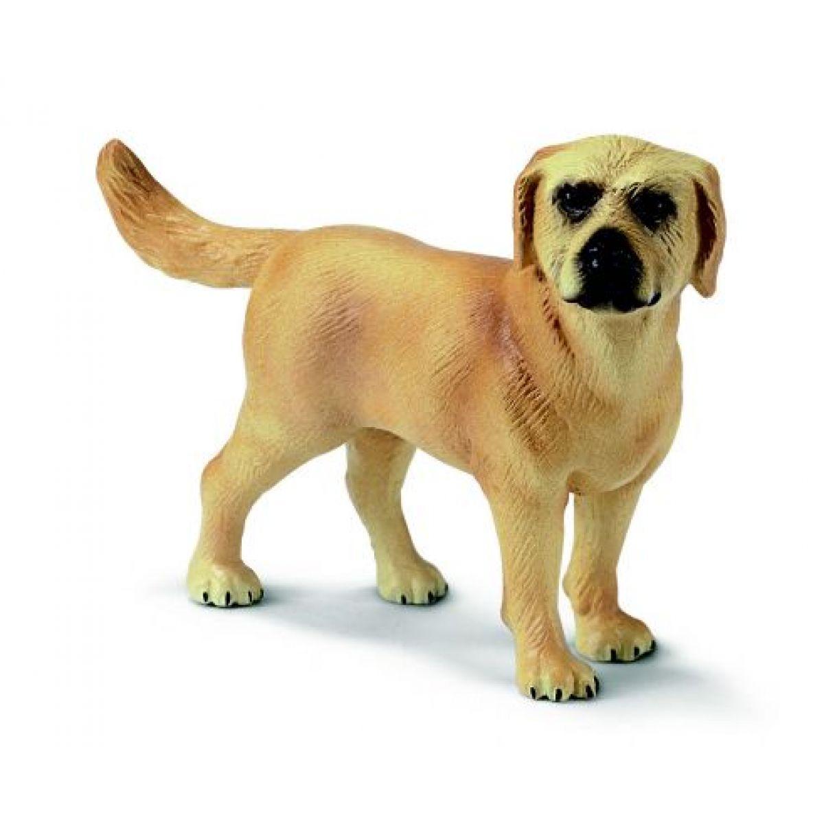 Zvířátko - zlatý labrador Schleich